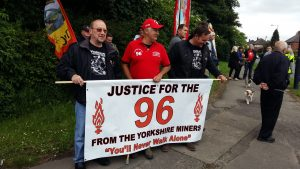 Great to see support from the Hillsborough 96 campaign